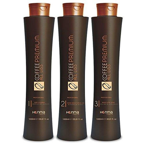 HONMA TOKYO Coffee Premium Hair Treatment 3 Steps (3 litres) (3 X 1 Litre)