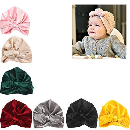 5a710cbcc27 Udobuy 7 Pcs Headband Updated Version Baby Hat- Newborn Baby Girl ...