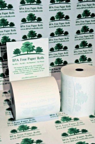 40 57mm x 70mm 57x70mm Thermal Paper Cash Register Till Printer Receipt Rolls