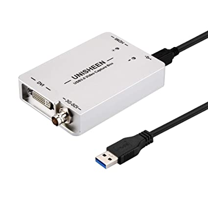Amazon com: UNISHEEN USB3 0 SDI HDMI DVI Video Capture Card