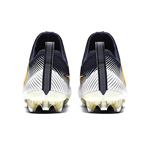 NIKE Vapor Untouchable Football Cleats Shoes Mens Size 14 (Navy Blue, White, University Yellow)