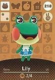 Nintendo Animal Crossing Happy Home Designer Amiibo Card Lily 218/300 USA Version