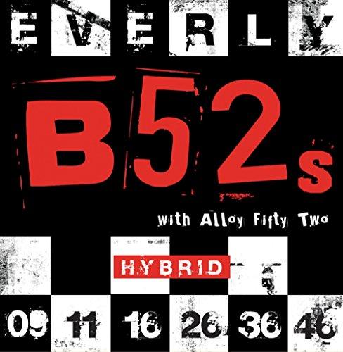 (Everly B-52 Electric Strings .009-.046 Hybrid/9219)