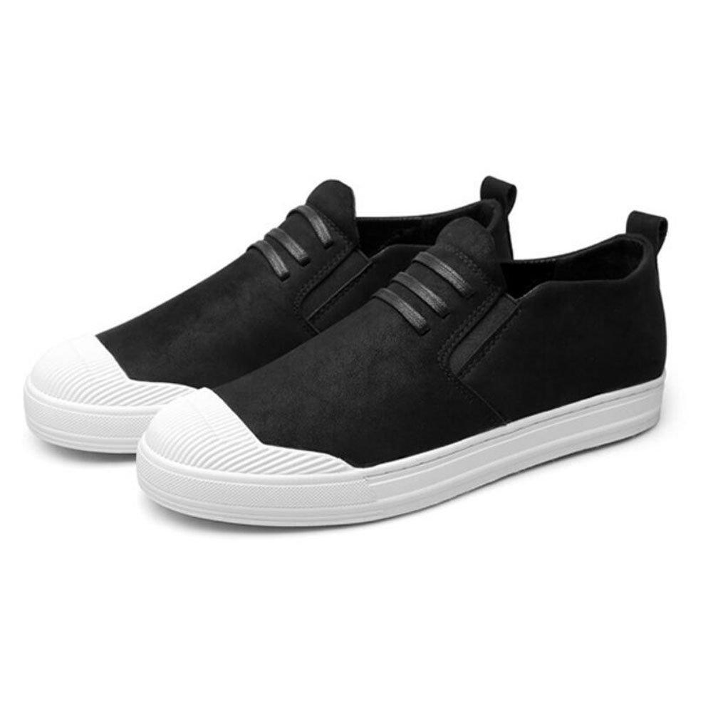 CAI Herren Freizeitschuhe 2018 Frühjahr/Sommer / Herbst Komfort Flache Loafers Herren Loafers & Slip-Ons Wanderschuhe/Fahr Schuhe (Farbe : Schwarz, Größe : 41)
