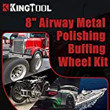 KingTool 10pcs Polishing Buffing Wheel Kit - 3PCS