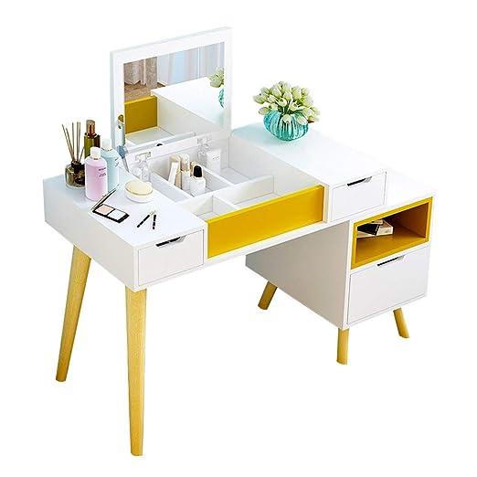 Be82aene Los escritorios Muebles Tocador Ajustable Clamshell Cajón ...