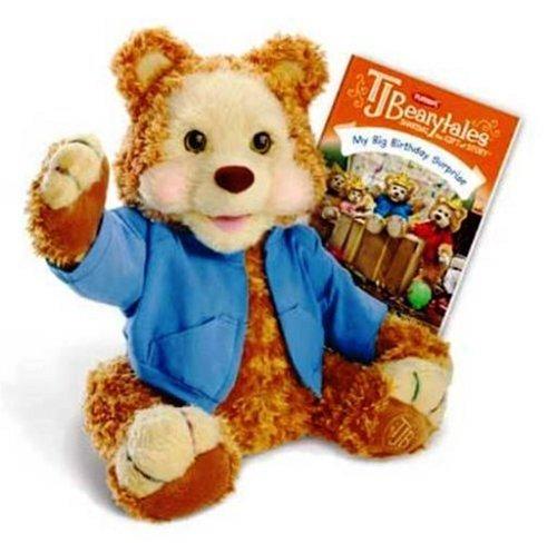 Hasbro Playskool T.J. Bearytales Animated Plush Bear ()