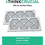 2PK Vornado Air Purifier Filter For Model AQS500, by Think Crucial