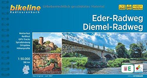 Eder-Radweg Diemel-Radweg: 386 km (Bikeline Radtourenbücher)