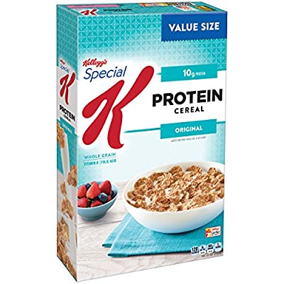 Special K Kellogg's Cereal, Protein, 19.00 Ounce