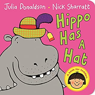 book cover of Hippo Has A Hat