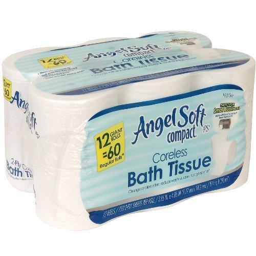 GEP1937300 - Angel Soft ps Compact Coreless Bath - Bath Angel Ps Soft