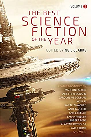 book cover of The Best Science Fiction of the Year: Volume Two