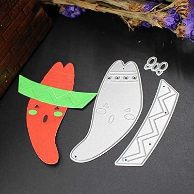Fish Bone Metal Cutting Dies Stencil DIY Scrapbooking Embossing Paper Card Decor