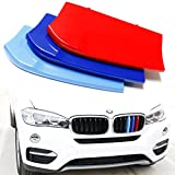 Automotive : iJDMTOY ///M-Colored Grille Insert Trims For 2017-2018 BMW F16 X6 with 7 Standard Grille Beams (Does Not Fit X6M)