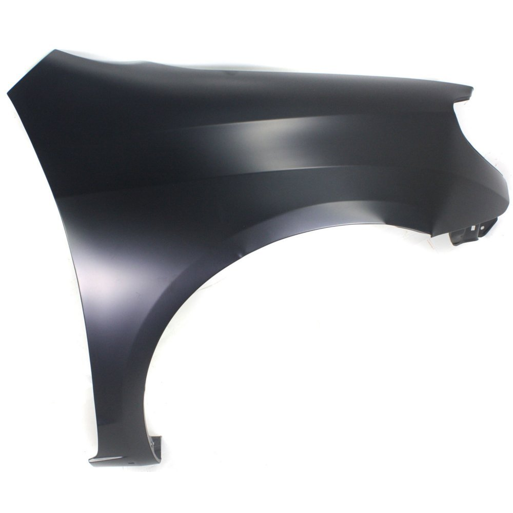 Evan-Fischer EVA16972051434 CAPA Fender Front Passenger Right RH Side Steel Primered With rocker panel molding hole