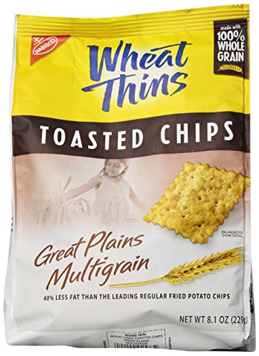 Wheat Thins Toasted Chips, Multigrain, 8.1 ounces