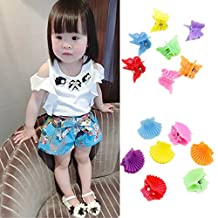 30Pcs New Fashion Mixed colors Plastic Hair Clip Baby Women Clamp 9 Style ZOCA