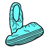 Halyard Health 69254 X-Tra Traction Shoe Covers, X-Large, Light Blue (Pack of 80)