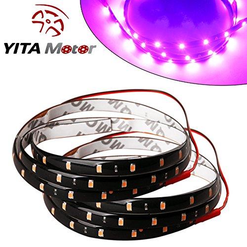 YITAMOTOR Purple Flexible Waterproof Decoration