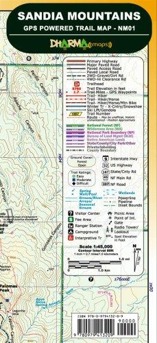Sandia Mountains GPS Powered Trail