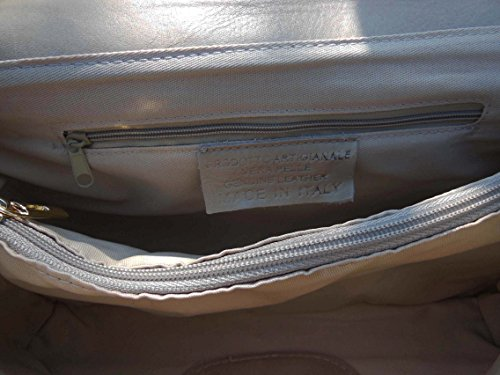 shoulder bag Beige Beige shoulder leather bag leather leather XxFwaBqZ