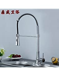 Ling All Copper Sink Faucet Cold And Hot Basin Taps For Bathroom Kitchen