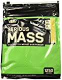 Optimum Nutrition Serious Mass Gainer Protein Powder, Vanilla, 12 Pound