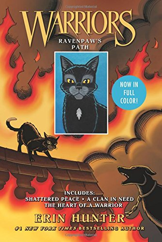 Adventure Path Set - Warriors: Ravenpaw's Path: Shattered Peace, A Clan in Need, The Heart of a Warrior (Warriors Manga)