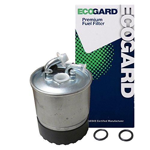 ECOGARD XF56305 Premium Diesel Fuel Filter Fits Dodge Sprinter 2500 2.7L DIESEL 2004-2006, Sprinter 2500 3.0L DIESEL 2007-2009, Sprinter 3500 3.0L DIESEL 2007-2009
