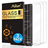Image of Ailun Screen Protector for iPhone 8 Plus 7 Plus 6s Plus 6 Plus,[5.5inch][3Pack],2.5D Edge Tempered Glass Compatible with iPhone 8 Plus,7 Plus 6s Plus 6 Plus,Anti-Scratch,Case Friendly