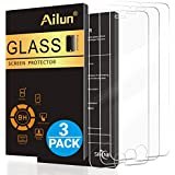 Ailun Screen Protector Compatible with iPhone 8 iPhone 7,[4.7inch][3 Pack],2.5D Edge Tempered Glass Compatible with iPhone 7/8,Case Friendly,Siania Retail Package