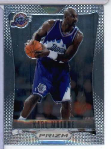 (2012-13 Panini Prizm Basketball Card # 168 Karl Malone - Utah Jazz (Legends of the Game) NBA Trading Cards)