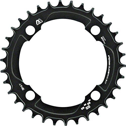 E.13 M Profile 10 11-speed Guide Ring 30t 104BCD  schwarz by e thirteen by the hive