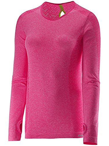 Tee Longues Hot Manches Ls Salomon Pink Seamless Maillot Elevate W 61OgTcq