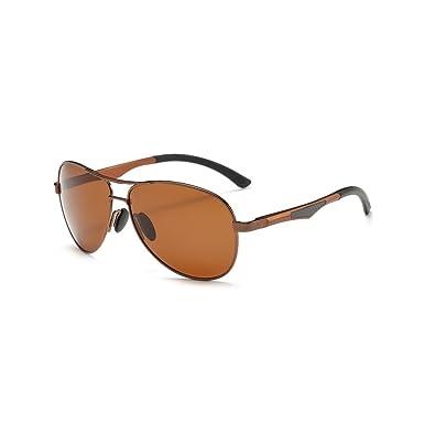 Modische Sonnenbrille für Sport und Freizeit braun aX5HtA