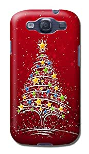 Custom unique New Style Merry Christmas fashionable TPU Cellphone Protector Shield Case for Samsung Galaxy S3