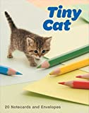 img - for Tiny Cat Notecards: 20 Notecards and Envelopes book / textbook / text book