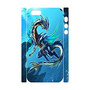 iphone5s Phone Case White Ancient Dragon VJN357828