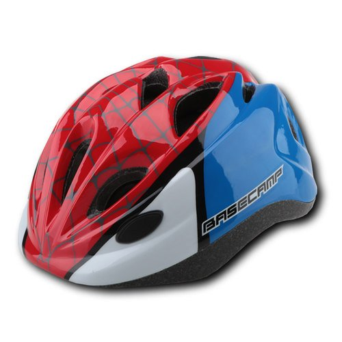 (JKSPORTS Shell Si cyclingd child helmet bicycle safety helmet kid bicycle hat round slippery protecting equipment take light ride go material)
