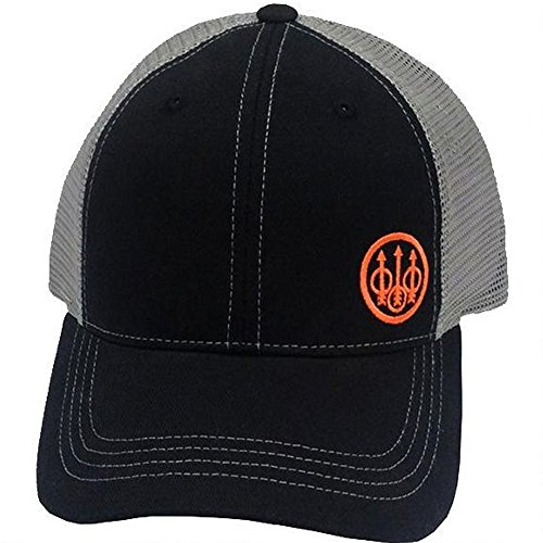 Cap Beretta (Beretta Men's Trident Trucker, Black, One Size)