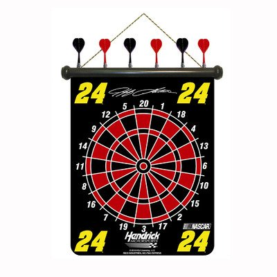 picture of Rico Industries NDDRT2402 Nascar Jeff Gordon Magnetic Dart Board Set