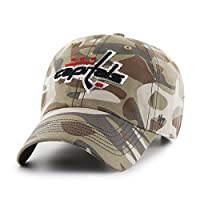 NHL Women's Sparkle Camo Clean Up Adjustable Hat