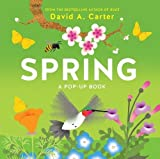 Just in time for spring, this is the second book in the Carter pop-up book series about the seasons. Each spread has a very brief verse and depicts common springtime flora and fauna. All things pictured are labeled (robins, water lilies, deer...