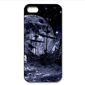 amazing sea rover boat art Case for iPhone 5 or 5S PC case cover for iphone for women lifeproofase for iphone