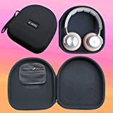 V-MOTA ANC headphone Carry case (Size:235x225x55mm) box For B&O BeoPlay H9,BeoPlay H7 BeoPlay H6 and Plantronics backbeat pro and JVC HA-SW01、SW02 HIFI and Panasonic RP-HX550 HX650 HX250 headset