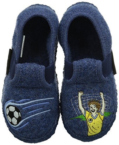 Giesswein Torgau - Zapatillas de estar por casa Niños Azul (Jeans)