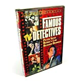 Famous TV Detectives Collection (Peter Gunn / Burke's Law / Richard Diamond / The Lone Wolf / I Am The Law / Treasury Men In Action / Checkmate / Homicide Squad) (2-DVD) by Various