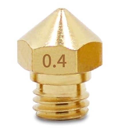 MK10 Boquilla para impresora 3D, M7 cabeza extrusora de latón ...
