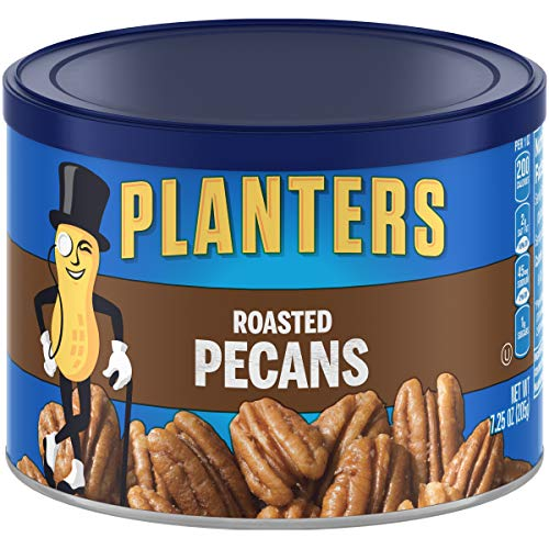 Planters Pecans, Roasted & Salted, 7.25 oz Canister